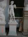 純漢白玉雕刻大衛西方人物雕刻工藝品 1