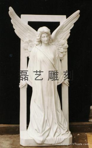 教堂圣母玛利亚汉白玉雕刻 4