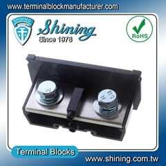 TA-300 35 mm DIN Rail Electric Wire Connector 300A Terminal Block