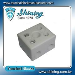 TC-652-A 2 Pole 65A Heat Temperature Porcelain Terminal Blocks
