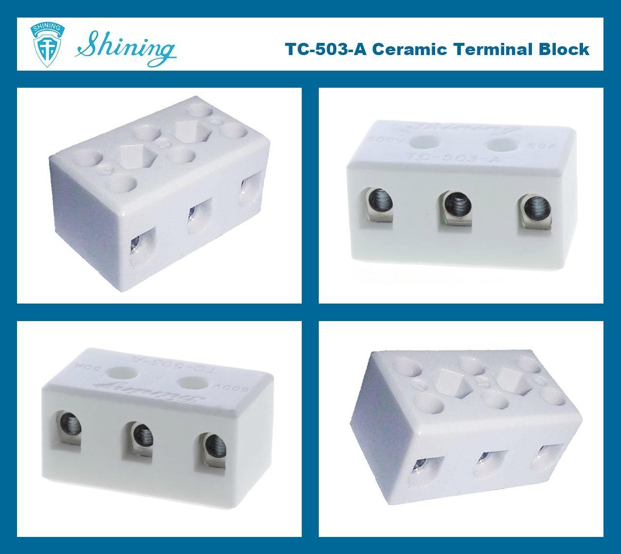 TC-503-A 陶瓷端子台 Ceramic Terminal Block 6