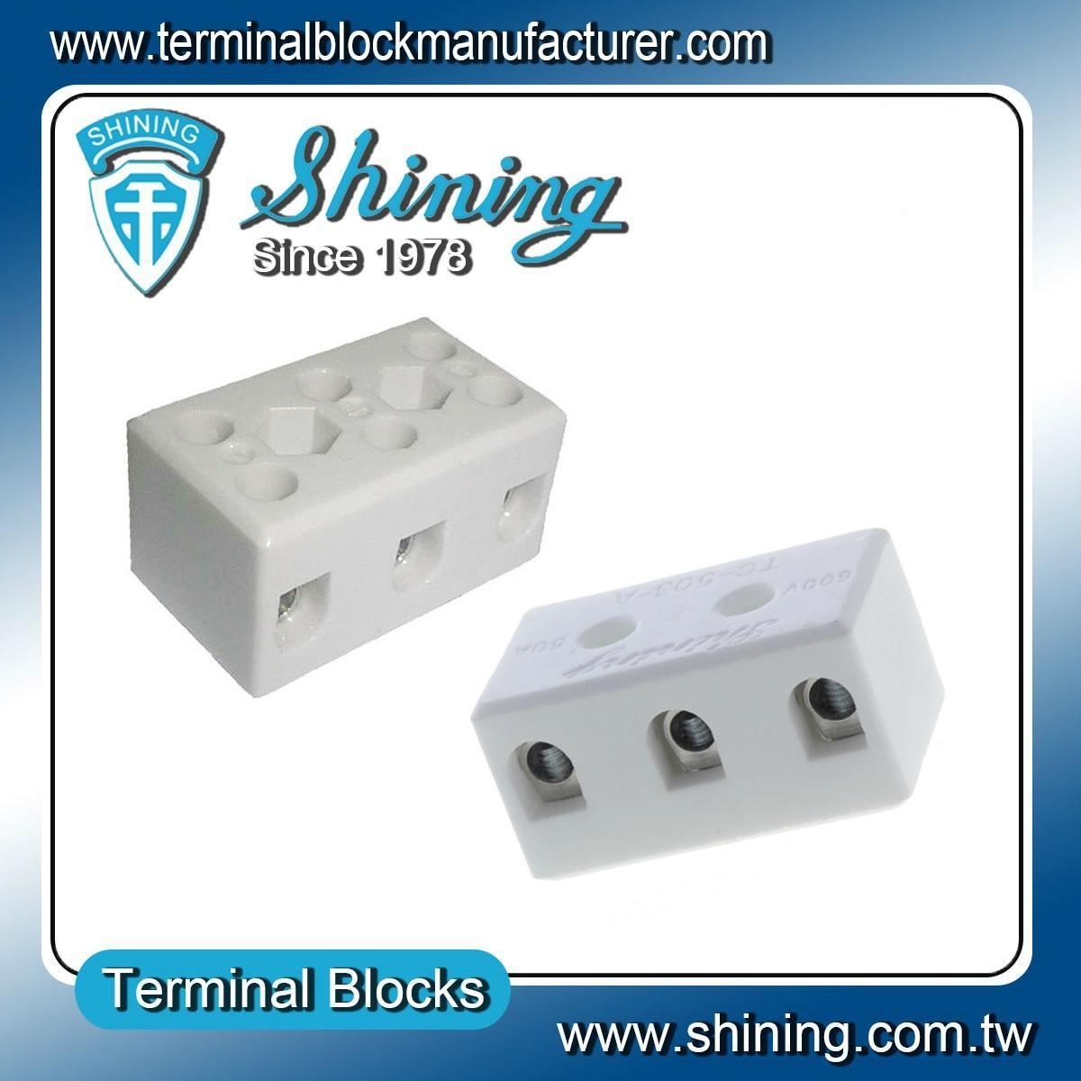 TC-503-A 陶瓷端子台 Ceramic Terminal Block 3