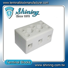 TC-503-A 3 Pole 50A Heat Temperature Porcelain Terminal Blocks