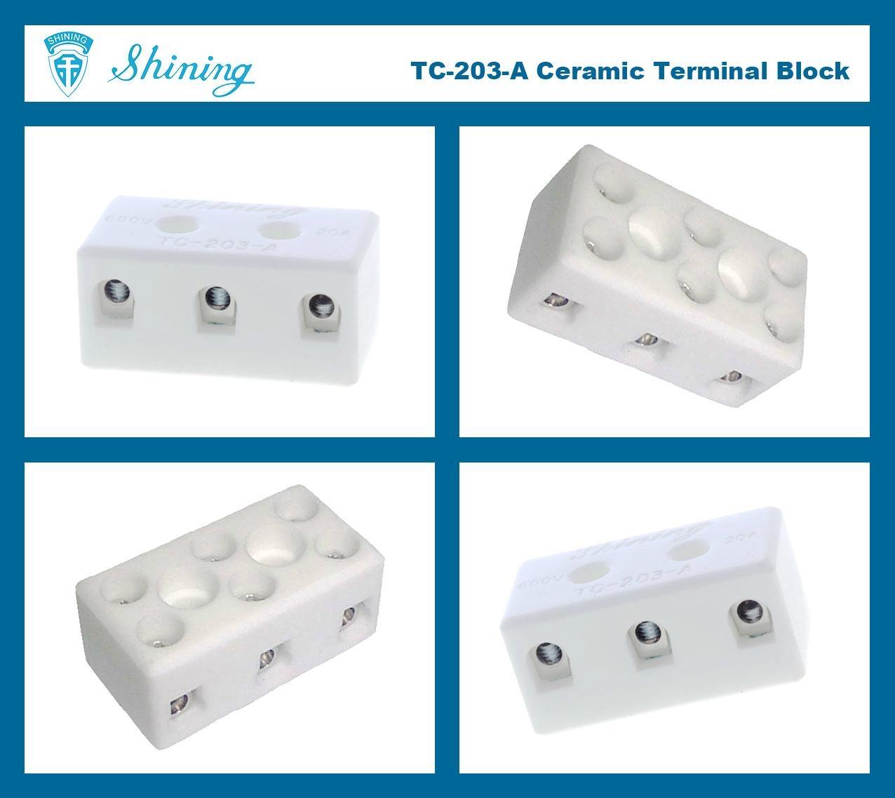 TC-203-A 陶瓷端子台 Ceramic Terminal Block 7