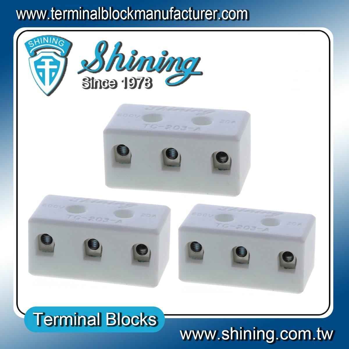 TC-203-A 陶瓷端子台 Ceramic Terminal Block 5