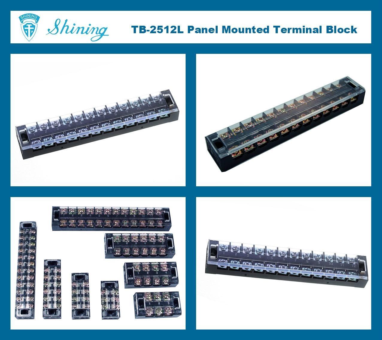 TB-2512L 固定式端子台 Fixed Terminal Block 2