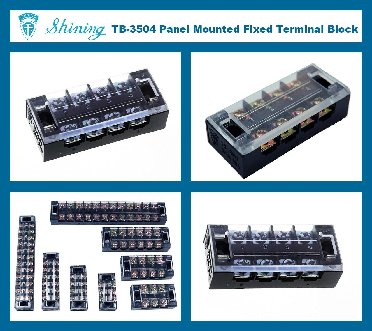 TB-3504 固定式端子台 Fixed Terminal Block 2