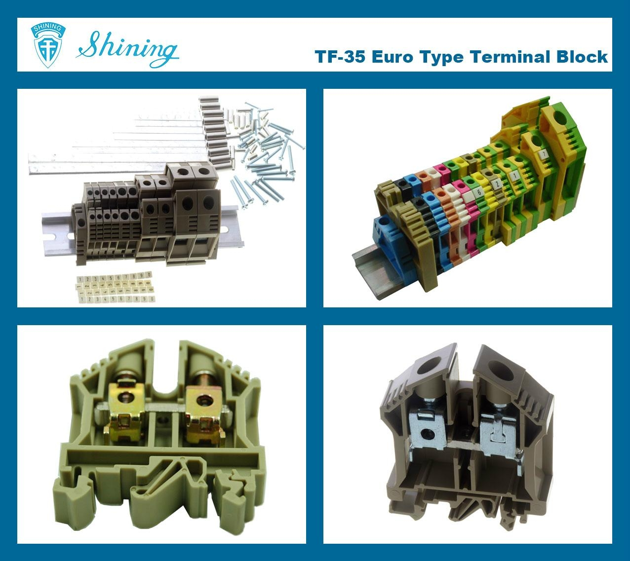 TF-35  歐規端子台 Feed Through Terminal Block 2
