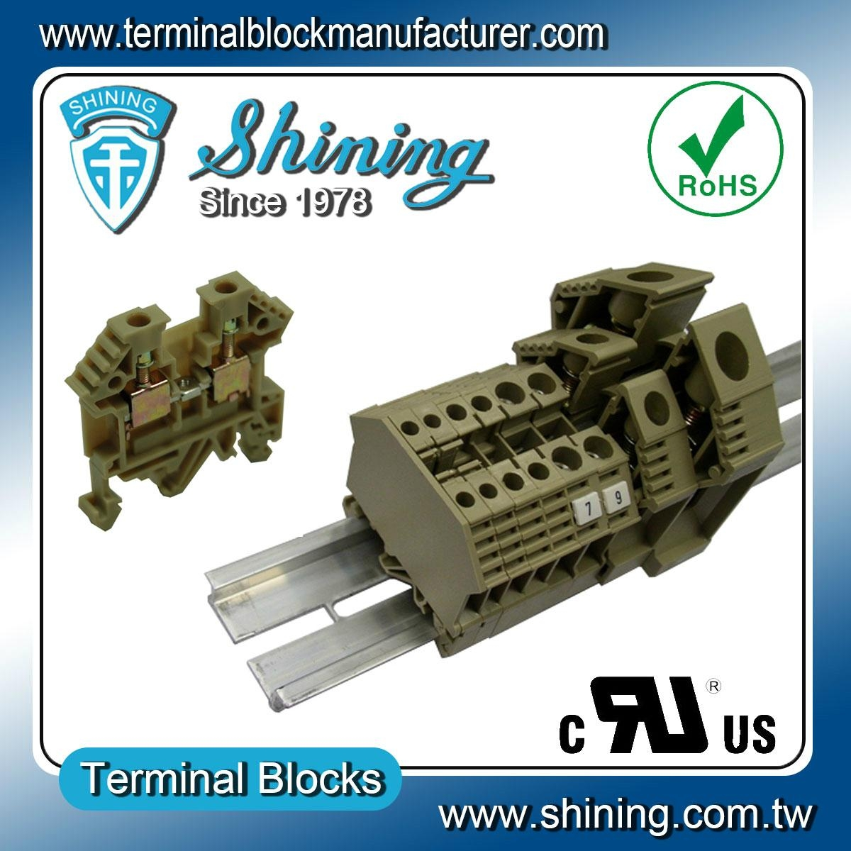 TF-4  歐規端子台 Feed Through Terminal Block 1