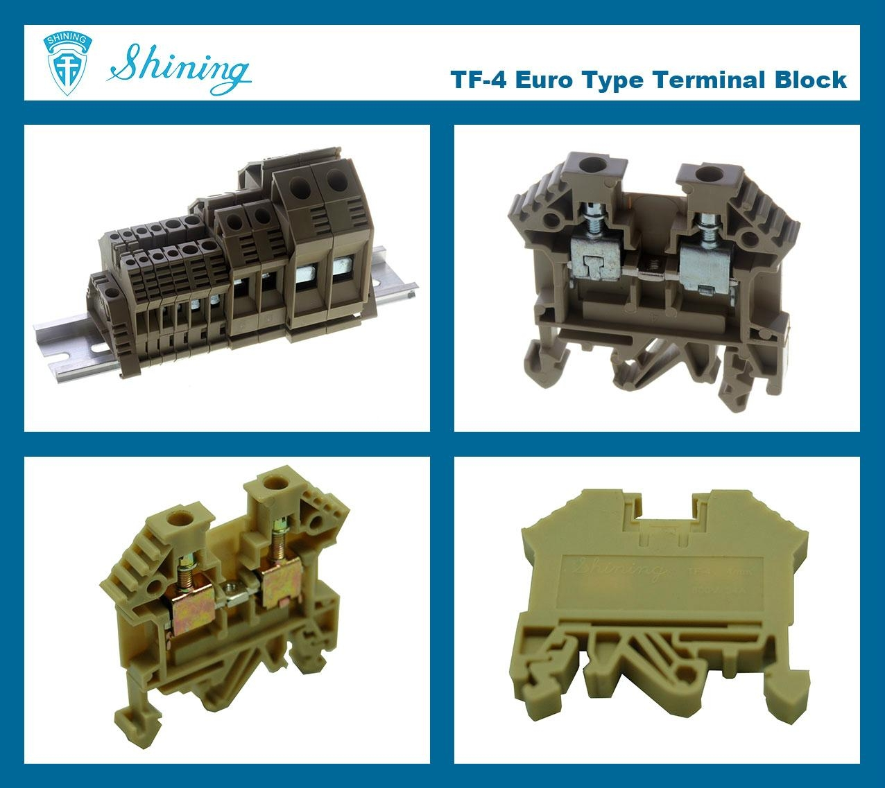 TF-4  歐規端子台 Feed Through Terminal Block 2