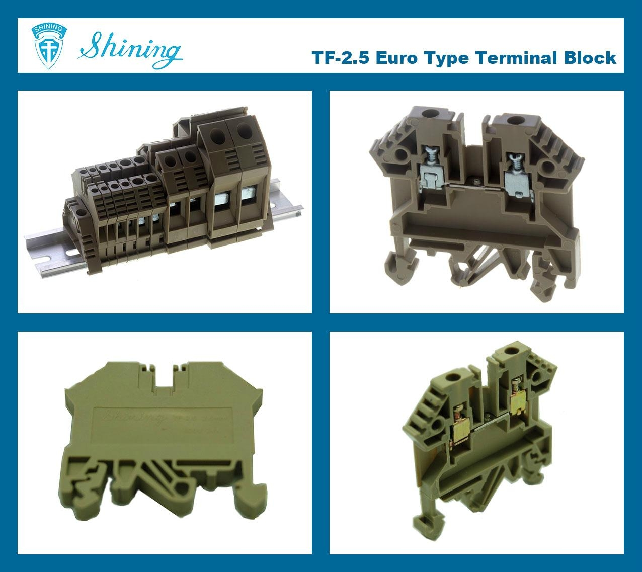 TF-2.5  歐規端子台 Feed Through Terminal Block 2