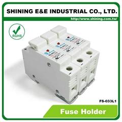 FS-033L1 10x38 32A RT18-32 保險絲座 Fuse Holder