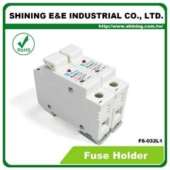FS-032L1 10x38 32A RT18-32 保险丝座 Fuse Holder