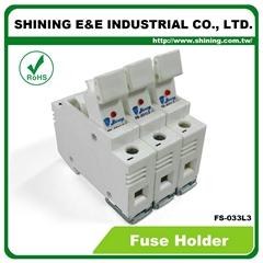 FS-033L3 10x38 32A RT18-32 保險絲座 Fuse Holder