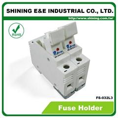 FS-032L3 10x38 32A RT18-32 保险丝座 Fuse Holder