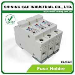 FS-033L2 10x38 32A RT18-32 保險絲座 Fuse Holder