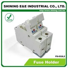 FS-032L2 10x38 32A RT18-32保險絲座 Fuse Holder