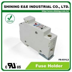 FS-031L2 10x38 32A RT18-32 保險絲座 Fuse Holder