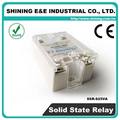 SSR-S25VA  VR to AC 單相固態繼電器 Solid State Relay