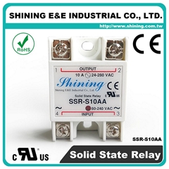 SSR-S10AA Single Phase 10Amp AC to AC Solid State Relays ( SSR )