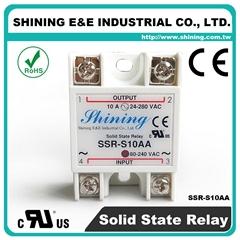 SSR-S10AA AC to AC 单相固态继电器 Solid State Relay