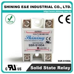 SSR-S10DA DC to AC 单相固态继电器 Solid State Relay