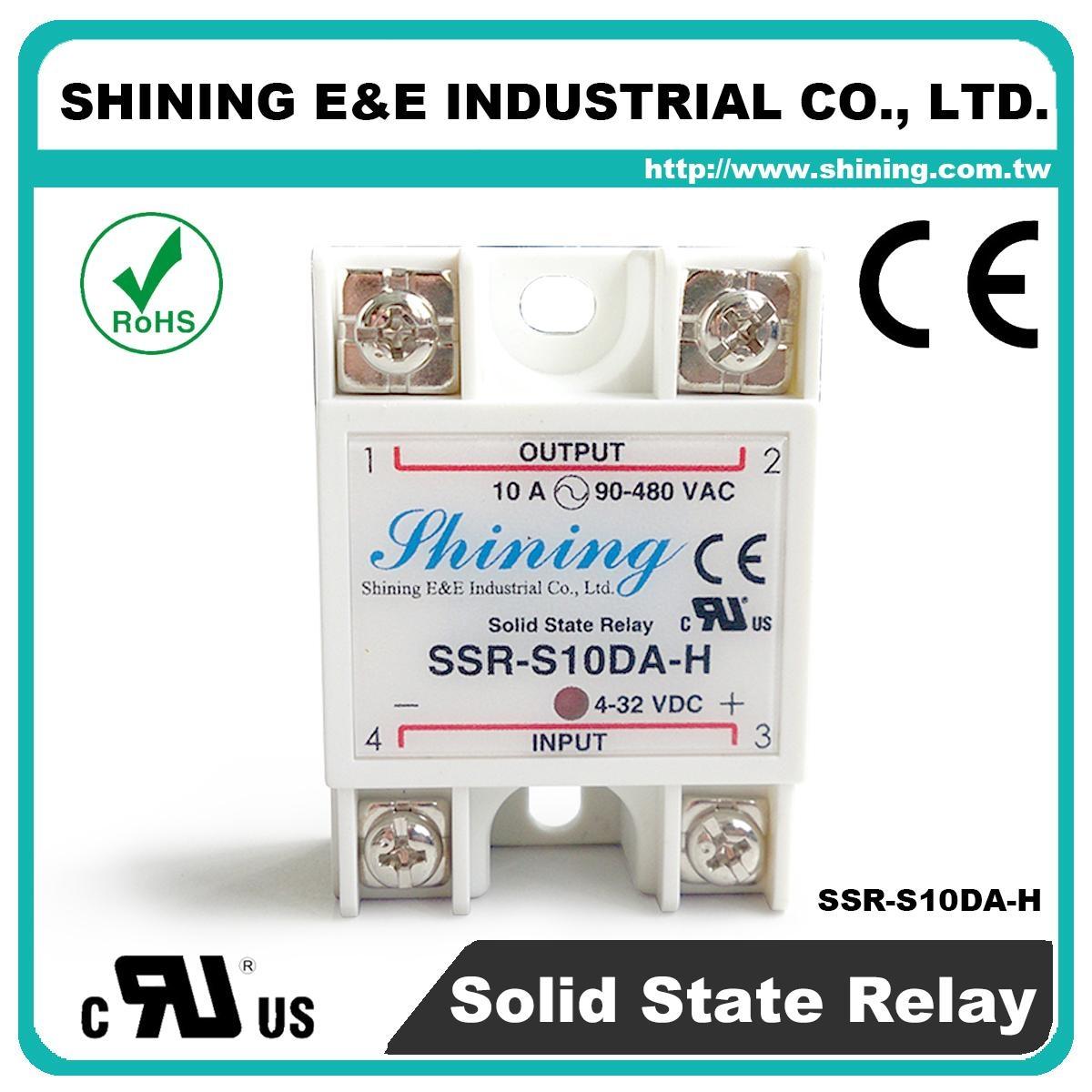 SSR-S10DA-H DC to AC 單相固態繼電器 Solid State Relay 1