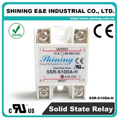 SSR-S10DA-H Single Phase 10A DC to AC Solid State Relay ( SSR )
