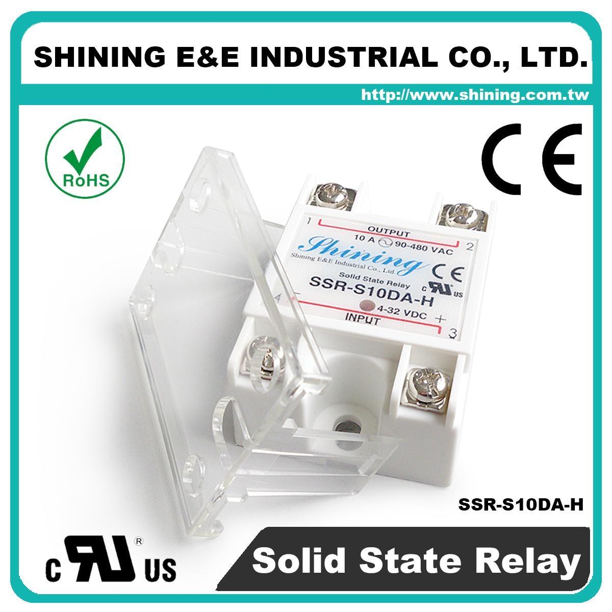 SSR-S10DA-H DC to AC 單相固態繼電器 Solid State Relay 5