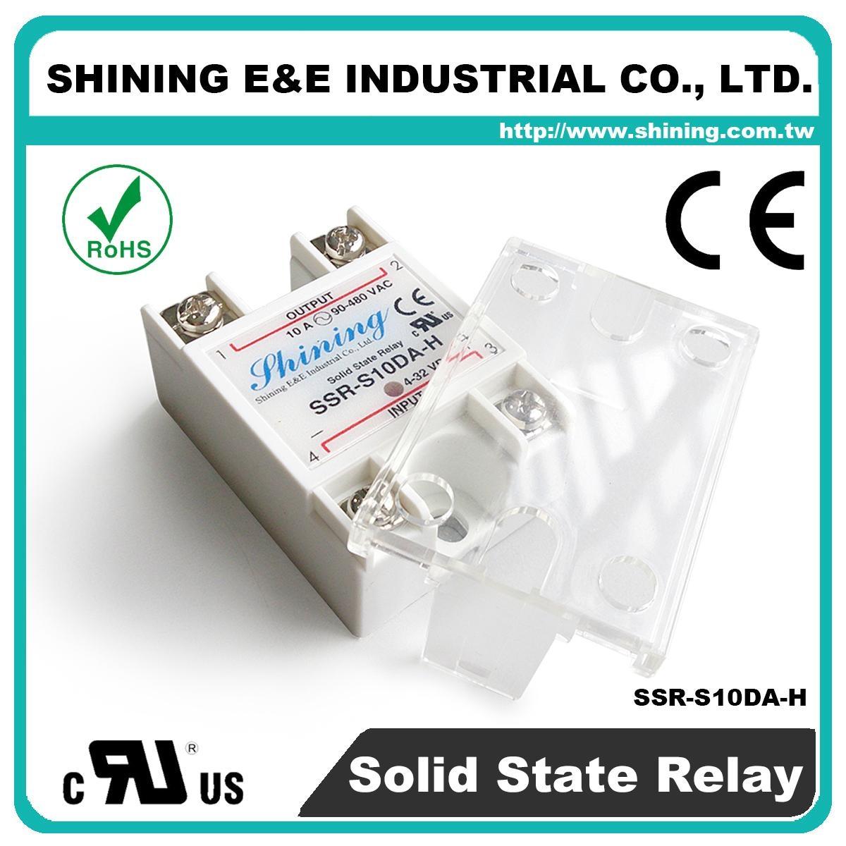 SSR-S10DA-H DC to AC 單相固態繼電器 Solid State Relay 4