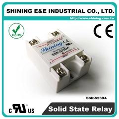 SSR-S25DA DC to AC 单相固态继电器 Solid State Relay