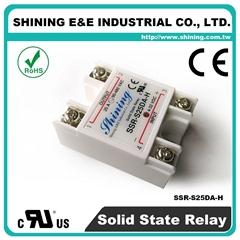 SSR-S25DA-H DC to AC 單相固態繼電器 Solid State Relay