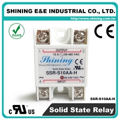 SSR-S10AA-H Single Phase 10Amp AC to AC Solid State Relay ( SSR )