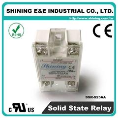 SSR-S25AA AC to AC 单相固态继电器 Solid State Relay