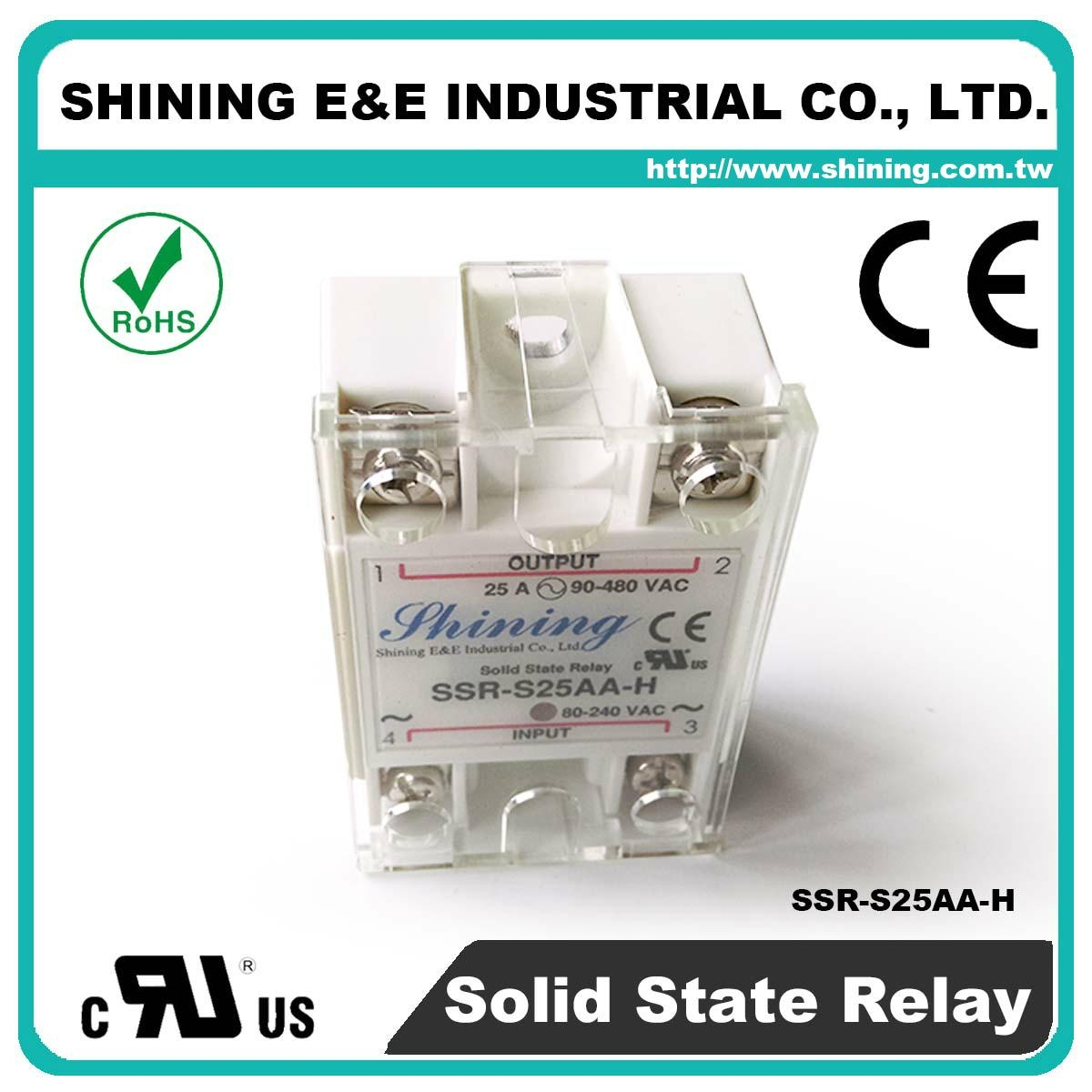 Ac Solid State Relay Schematic Ssr S25aa H Single Phase 25amp To