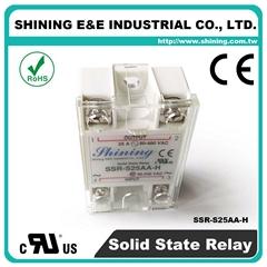 SSR-S25AA-H AC to AC 单相固态继电器 Solid State Relay