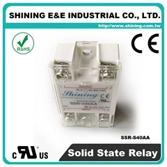 SSR-S40AA Single Phase 40Amp AC to AC Solid State Relays ( SSR )