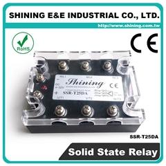 SSR-T25DA  DC to AC 三相固态继电器 Solid State Relay