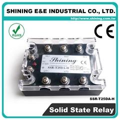 SSR-T25DA-H DC to AC 三相固态继电器 Solid State Relay