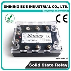 SSR-T40DA DC to AC 三相固态继电器 Three Phase Solid State Relay