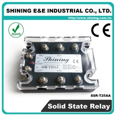 SSR-T25AA AC to AC 三相固态继电器 Solid State Relay