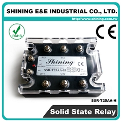 SSR-T25AA-H  AC to AC 三相固態繼電器 Solid State Relay