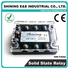 SSR-T40AA AC to AC Zero Cross Three Phase 40A Solid State Relays