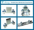 TA-002H Hat-Shaped 35mm DIN Rail Mounted Steel End Stop 7