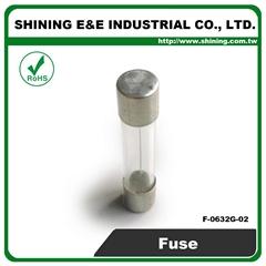 F-0632G-02 2A 6x30 Glass Tube Ferrule Fuse