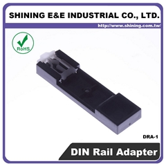 DRA-1 ABS UL 94HB Fuse Block DIN Rail Adapter