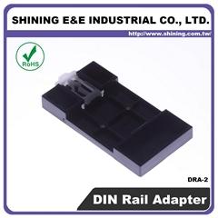 DRA-2 ABS UL 94HB Fuse Block DIN Rail Adapter