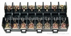 FS-018B DIN Rail Mounted 600V 10A 6x30 Glass Ferrule Fuse Base