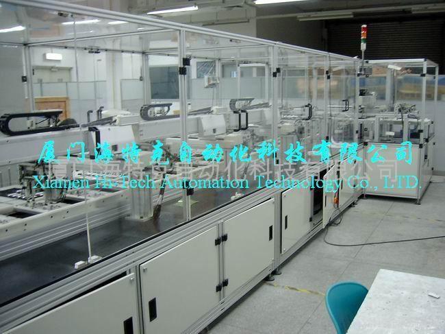 全自动电芯测试、分选机 1