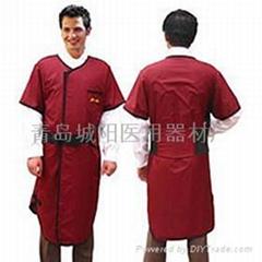短袖双面连体防护服 S202